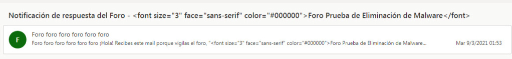 Se ve el código  en las notificaciones y mails en lugar del Titulo del Foro 810