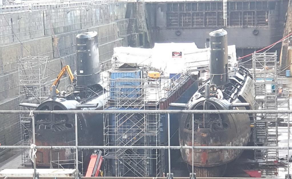 [Autre sujet Marine Nationale] Démantèlement, déconstruction des navires - TOME 2 - Page 12 2021-012