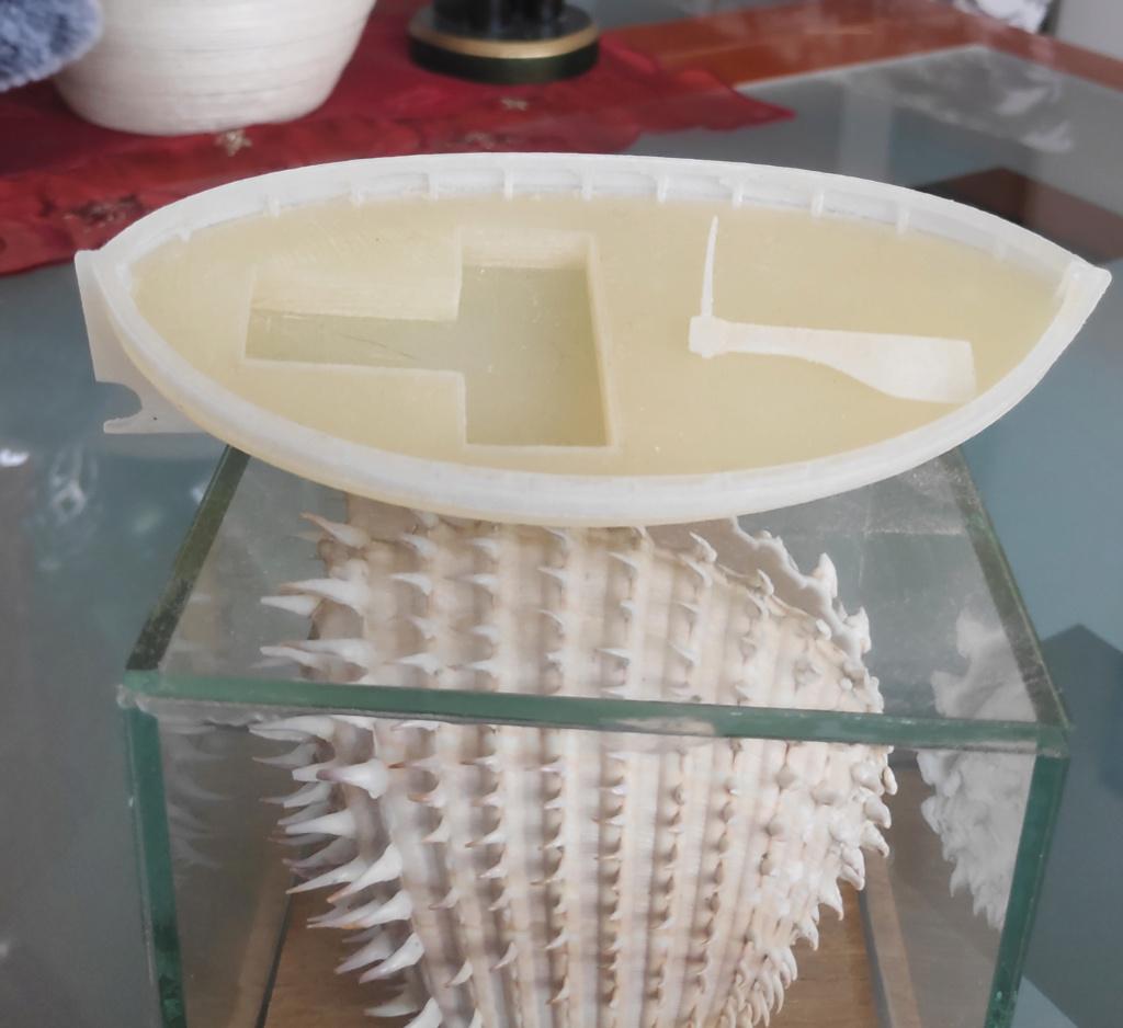 Barčica izrađena na 3D printeru 110