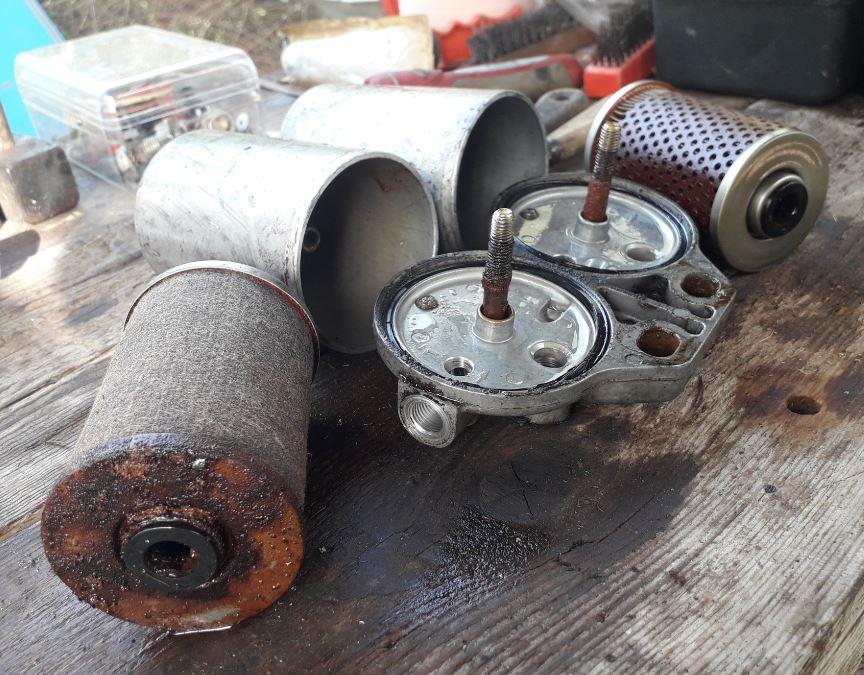Restauration Unimog 421 Pompier Filtre10