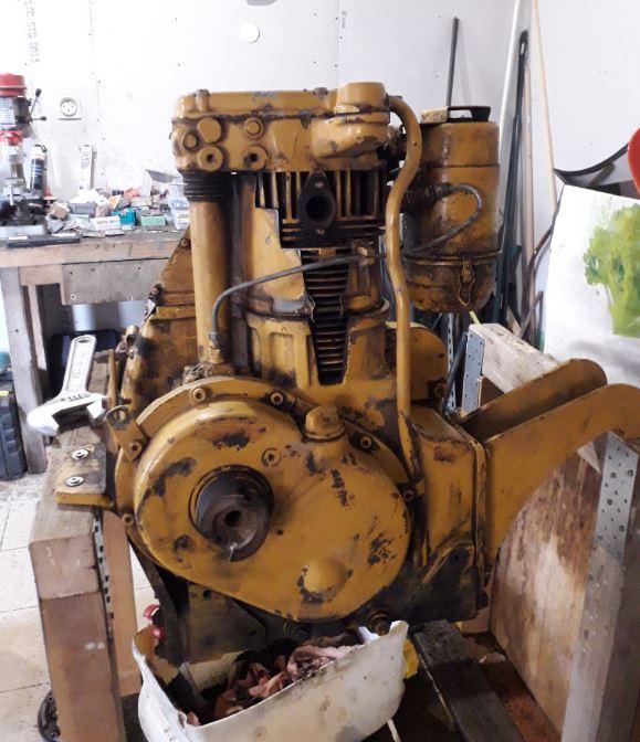 Sambron et moteur Hatz Hatze810