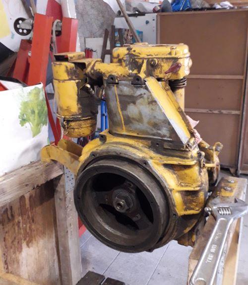 Sambron et moteur Hatz Moteur10