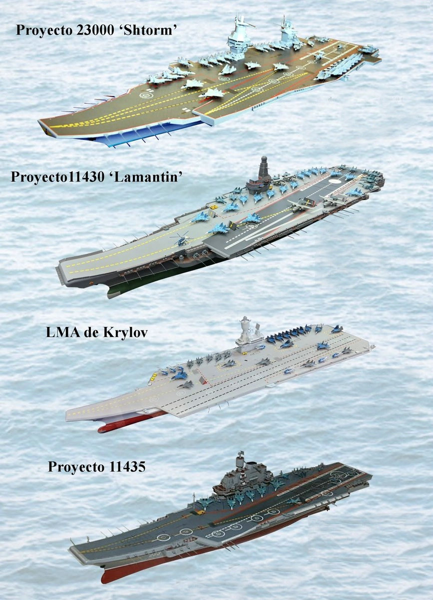 Future Russian Aircraft Carriers and Deck Aviation. #2 - Page 30 Cv-pro10