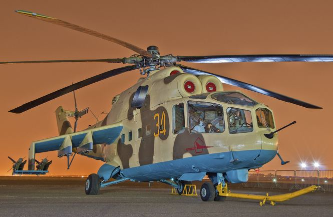 Fate of Russia's old birds. - Page 4 Mi-24a10