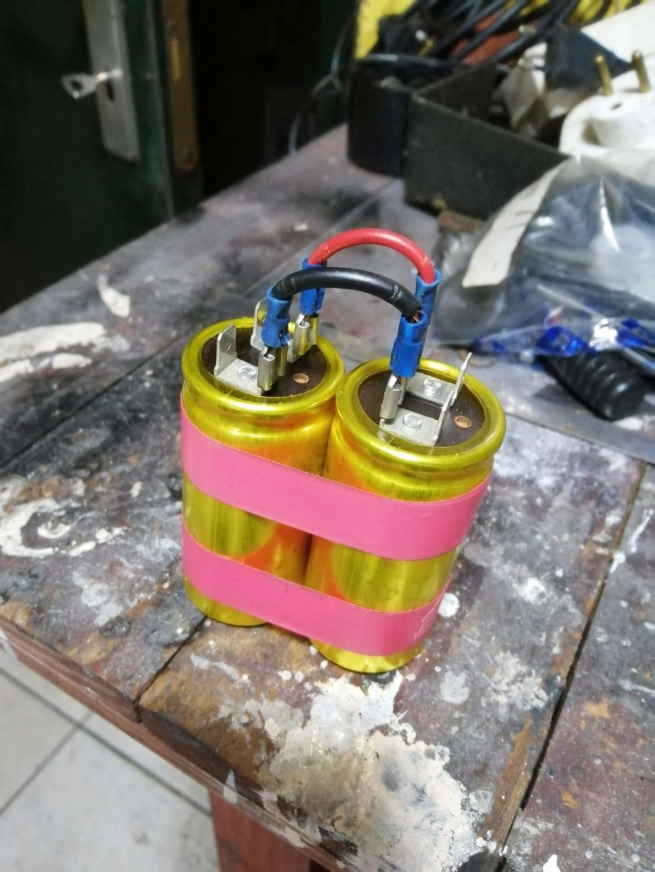 Suppression de la batterie 12649210
