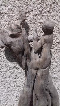 Sculpture sur bois flotte 20200410