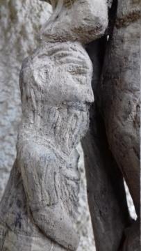 Sculpture sur bois flotte 20200414