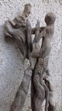 Sculpture sur bois flotte 20200418