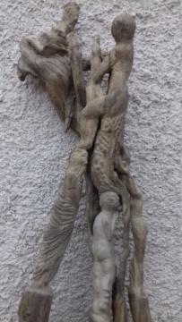 Sculpture sur bois flotte 20200710