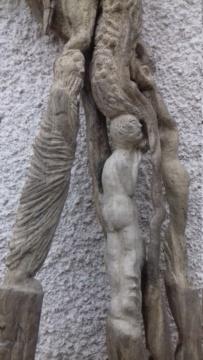 Sculpture sur bois flotte 20200711
