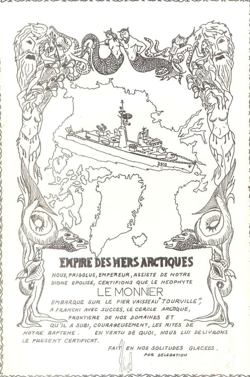 [Les traditions dans la Marine] Passage du cercle polaire (Sujet unique) - Page 2 Diplom10