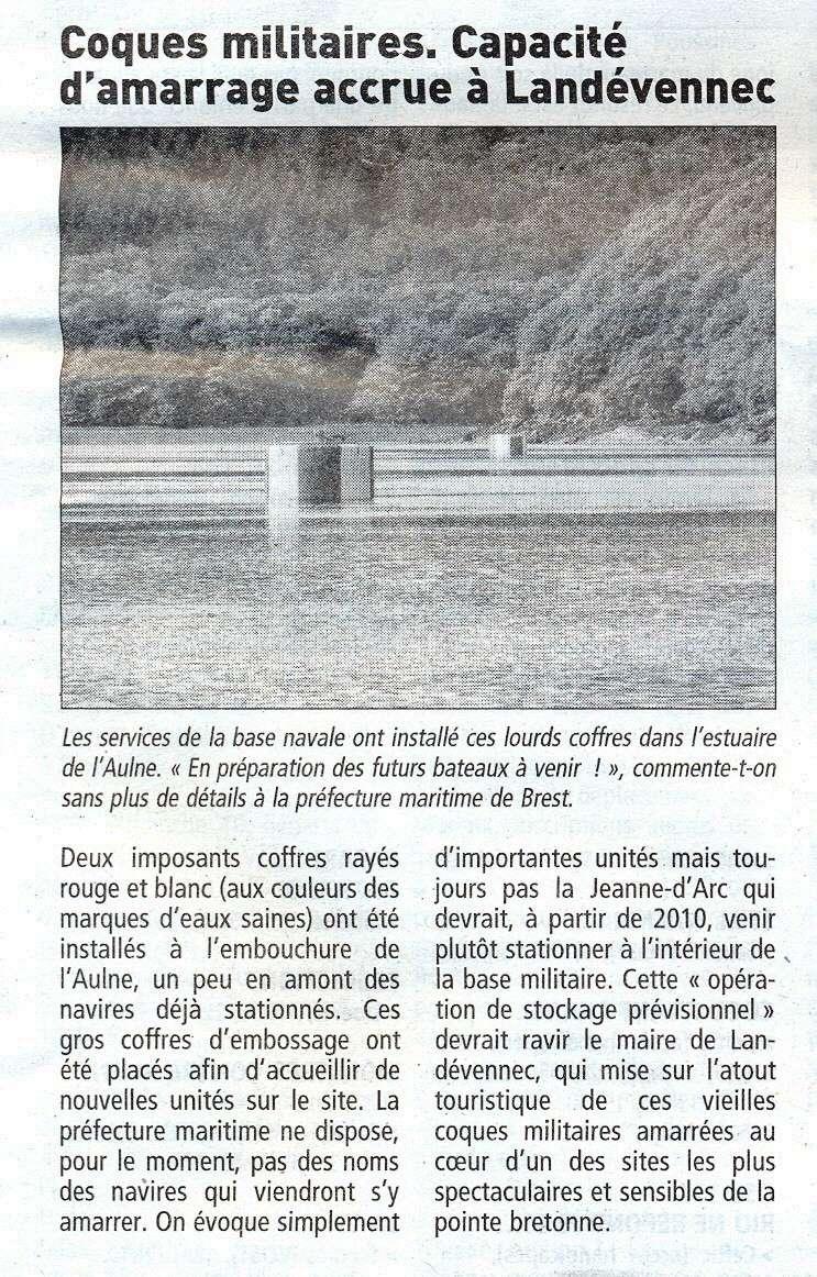 [Le cimetière des bateaux et du patrimoine de la Marine] Le cimetière de LANDEVENNEC - Page 6 Landev10