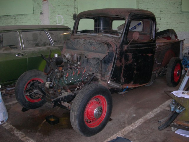 36' Ford Pick up 210