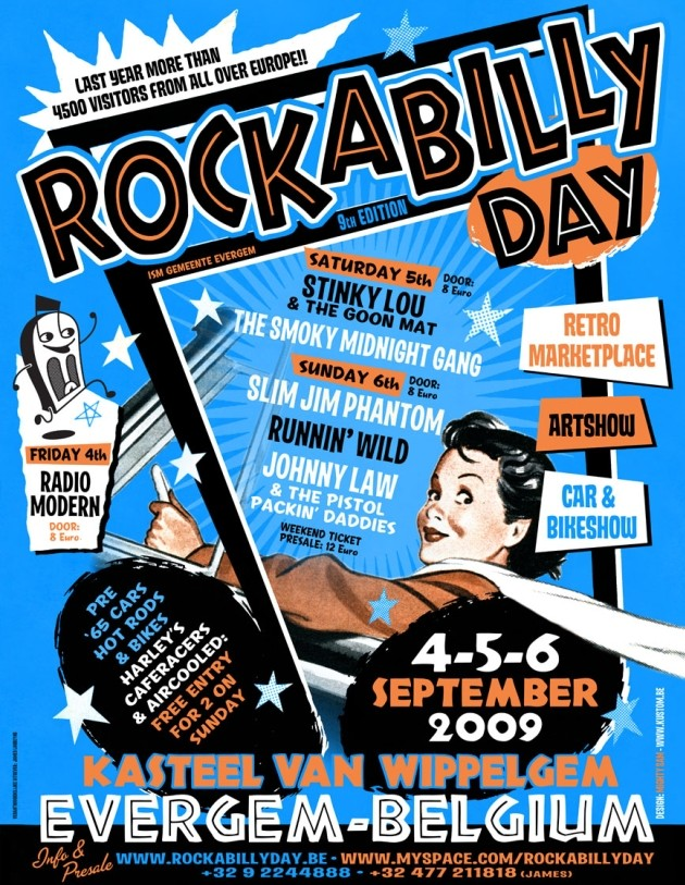 Rockabilly days (B) Affich10