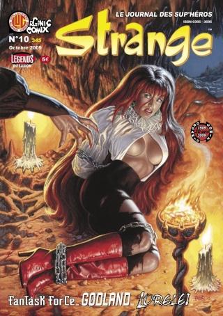 Strange (Organic comix) Covst111