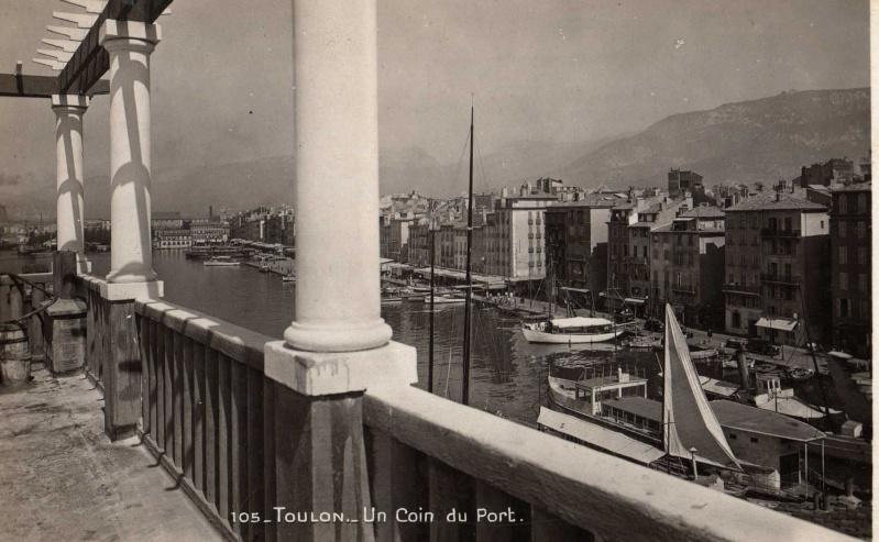 [ Les ports  militaires de métropole ] Toulon des années 30 Img35511