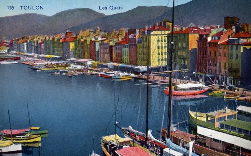 [ Les ports  militaires de métropole ] Toulon des années 30 Img36910