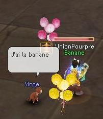 Minikong et le coup de la Banane Flyff145