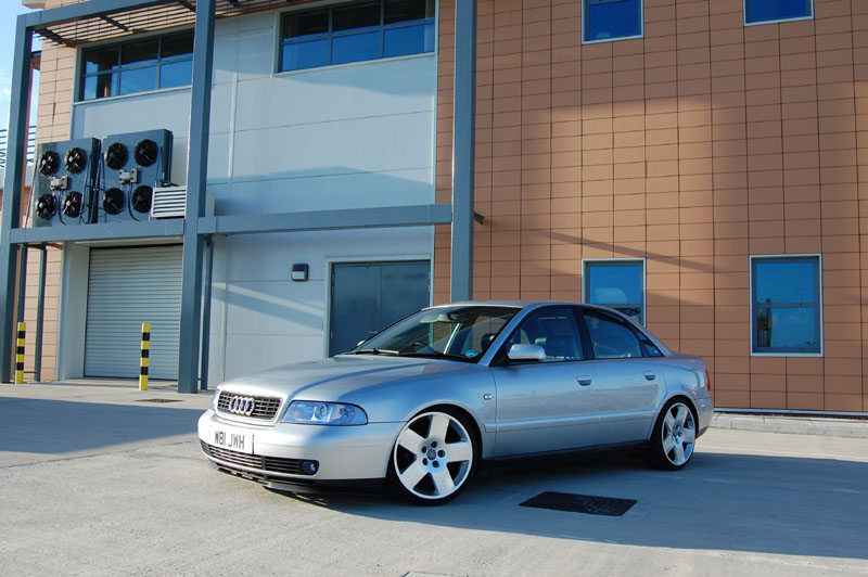 "My 18"" Audi Fat5's with 215/35 tyres 310"