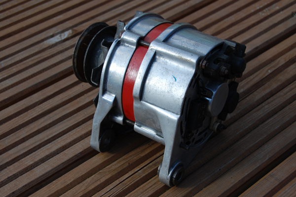 Polished alternator Alt_110