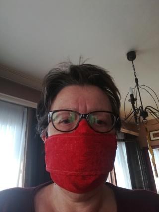 Masque tissu avec insert protection Masque10