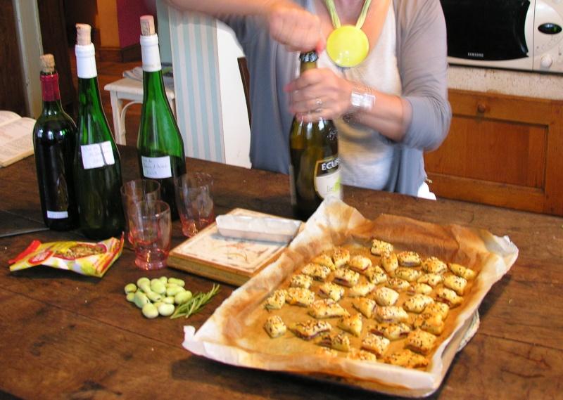 gâteaux apéritifs aux pousses de printemps 09_07_20