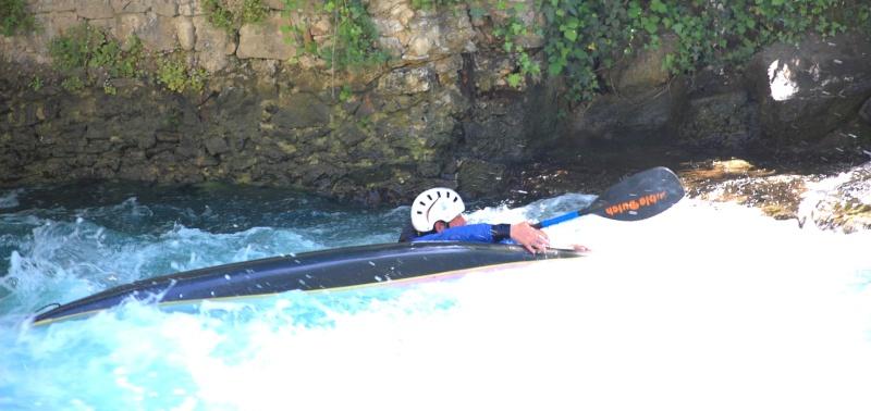 canoé  sur les rivieres .... Calais73