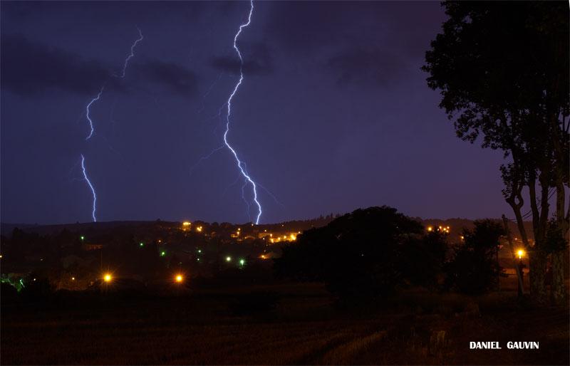 Orage tres electrique -Ouest Heraultais 20/07/09 Electr13
