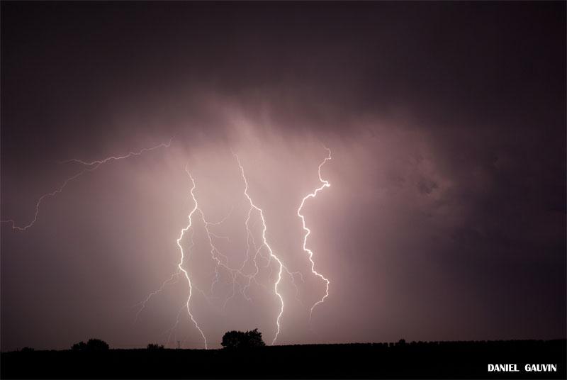 Orage tres electrique -Ouest Heraultais 20/07/09 Electr19