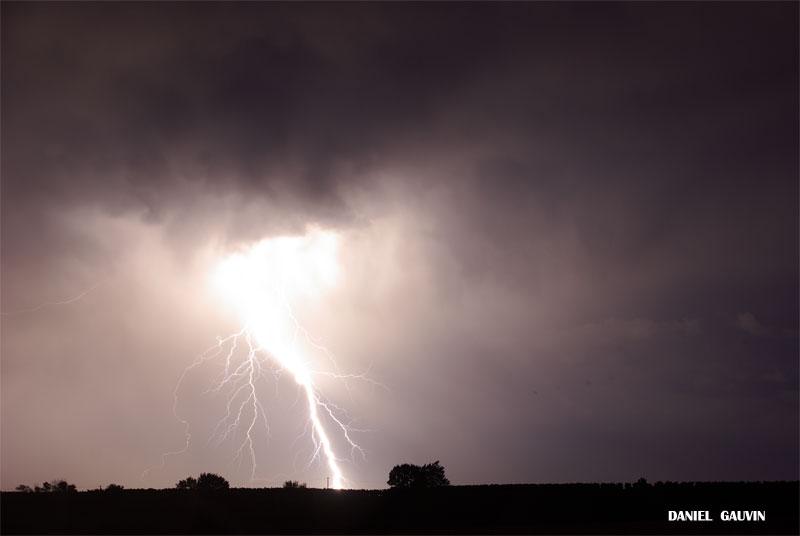 Orage tres electrique -Ouest Heraultais 20/07/09 Electr23