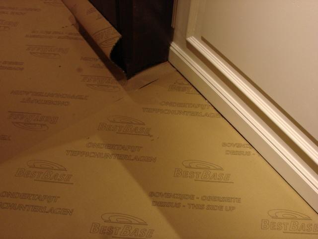 Changement de la moquette au 2ème étage du Disneyland hôtel Dsc00410