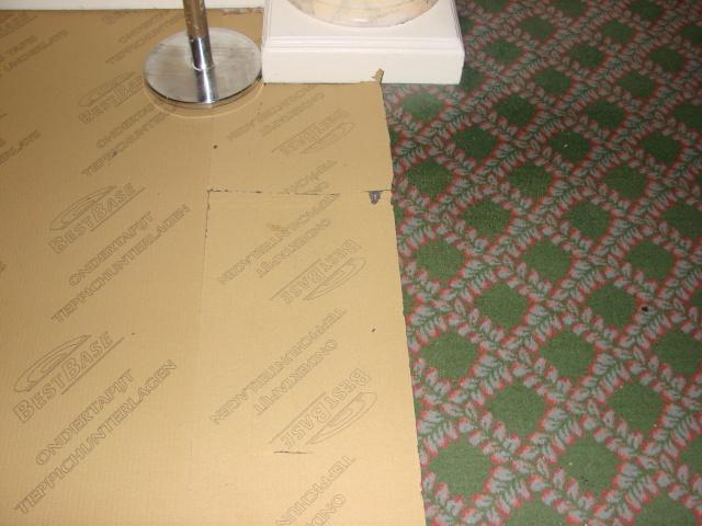 Changement de la moquette au 2ème étage du Disneyland hôtel Dsc00411