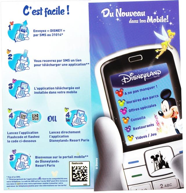 Disneyland sur votre Mobile Pub10