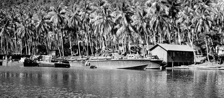 Pt Boat à monter mais avec quel camouflage???? Morobe10