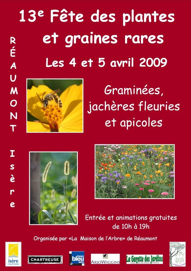 4 et 5 avril fetes des plantes à reaumont dans le 38 Affich10