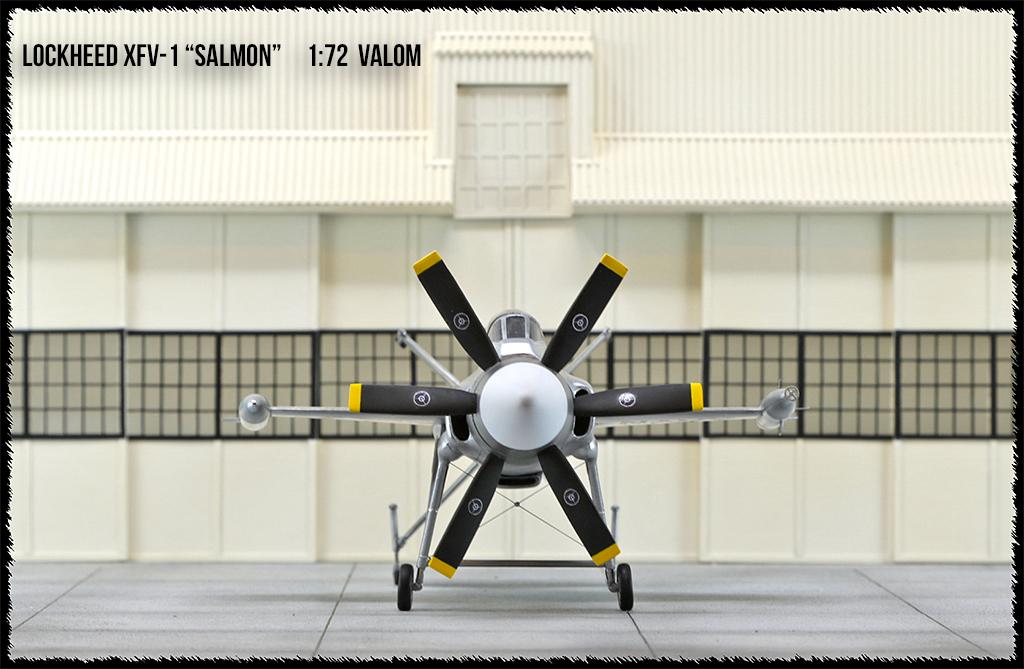 """Lockheed XFV-1 """"Salmon"""" (1:72 -Valom) - Page 2 0h3a9611"""
