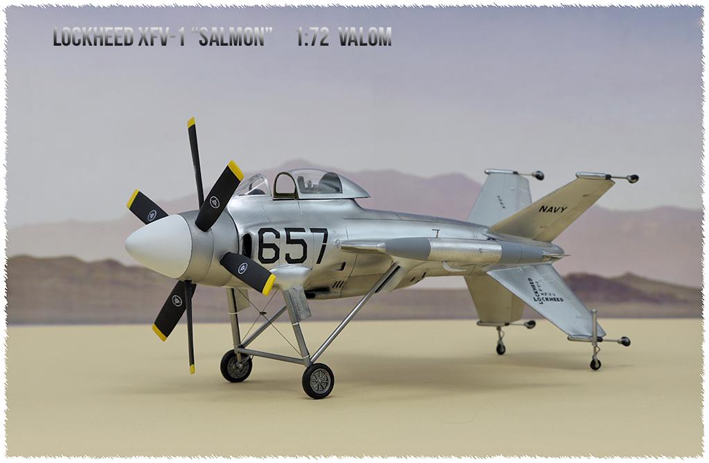 """Lockheed XFV-1 """"Salmon"""" (1:72 -Valom) - Page 2 0h3a9614"""