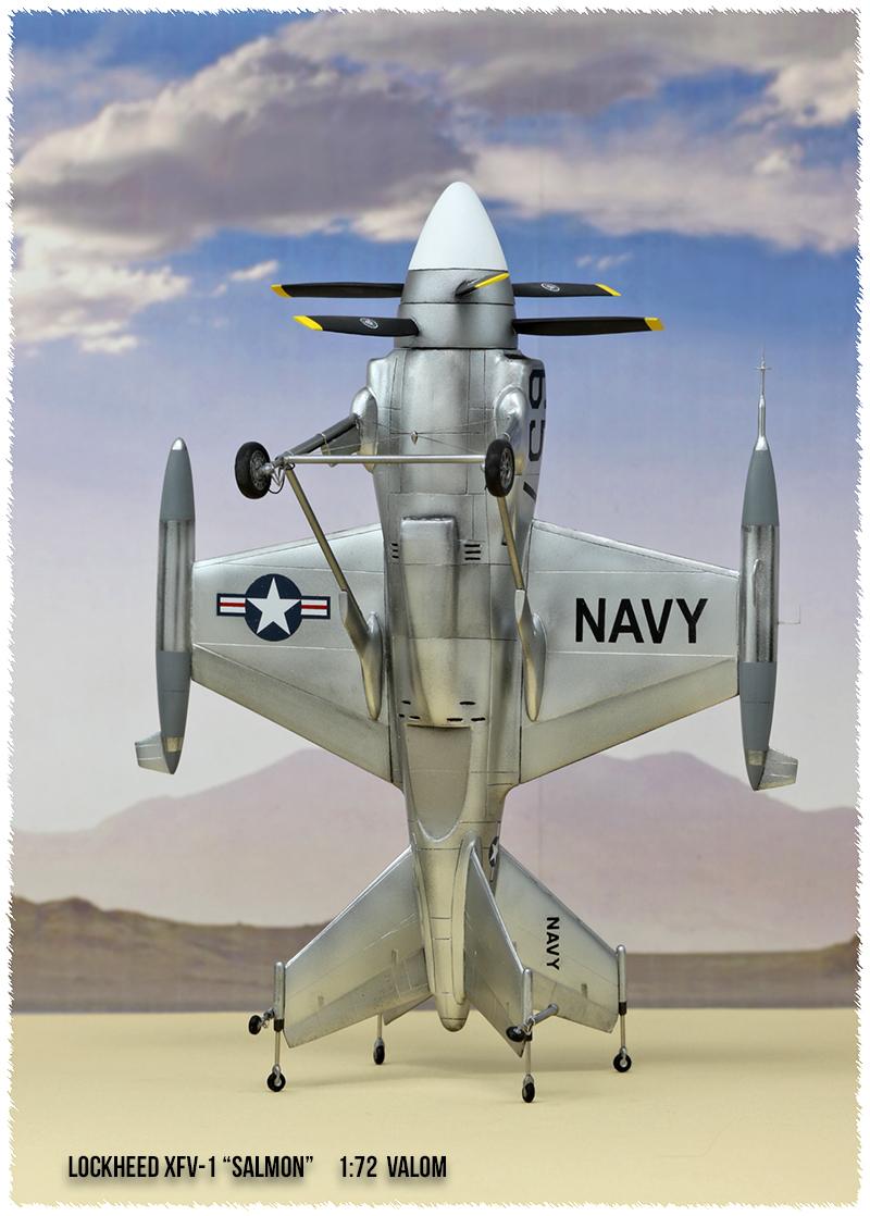 """Lockheed XFV-1 """"Salmon"""" (1:72 -Valom) - Page 2 0h3a9615"""