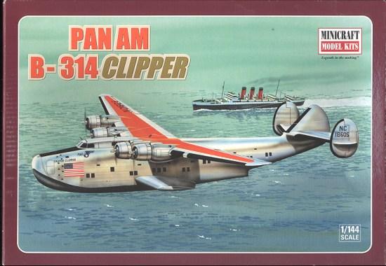 "Boeing 314 ""Dixie Clipper"" 1939-1950 (/1/144 Minicraft) 314bt10"