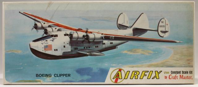 "Boeing 314 ""Dixie Clipper"" 1939-1950 (/1/144 Minicraft) Boeing15"