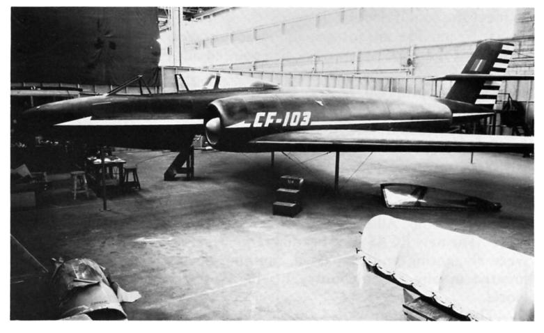 Moule maîtresse du AVRO CF-105 ARROW au 1/48 ! C-103_11