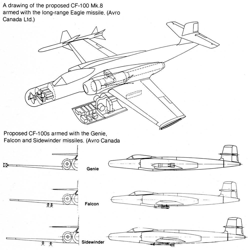 Moule maîtresse du AVRO CF-105 ARROW au 1/48 ! Cf100_11