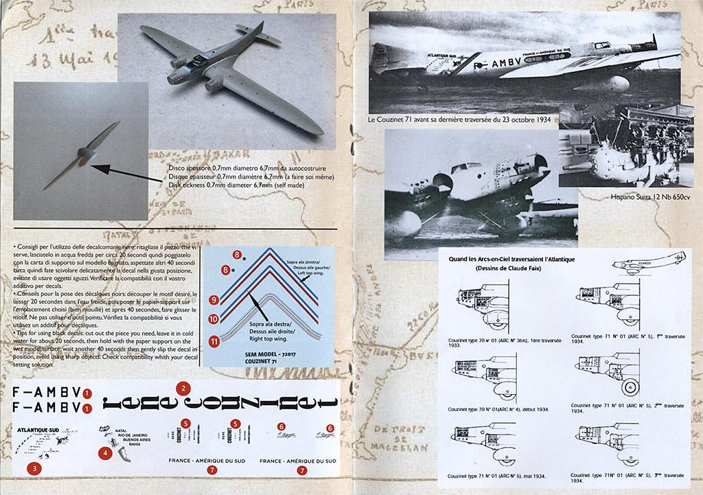"""Couzinet type 71 ARC-5 """"L'avion de Mermoz"""" (1:72, SEM model) Couzin22"""