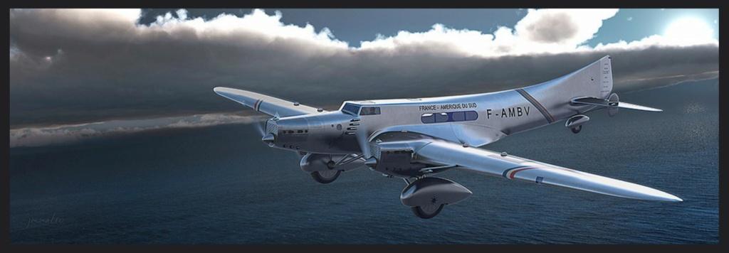 """Couzinet type 71 ARC-5 """"L'avion de Mermoz"""" (1:72, SEM model) Couzin26"""