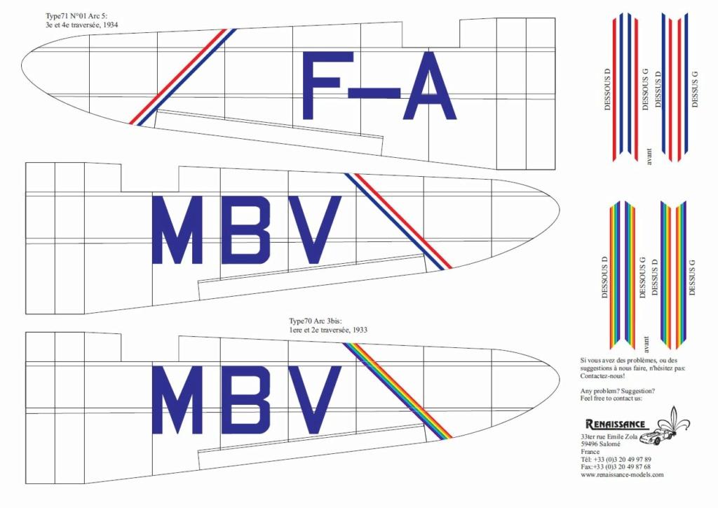 "[SEM model] Couzinet 71 n°1 ARC-5 ""L'avion de Mermoz""  Couzin27"