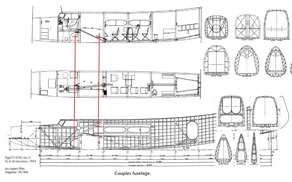 """Couzinet type 71 ARC-5 """"L'avion de Mermoz"""" (1:72, SEM model) Couzin28"""