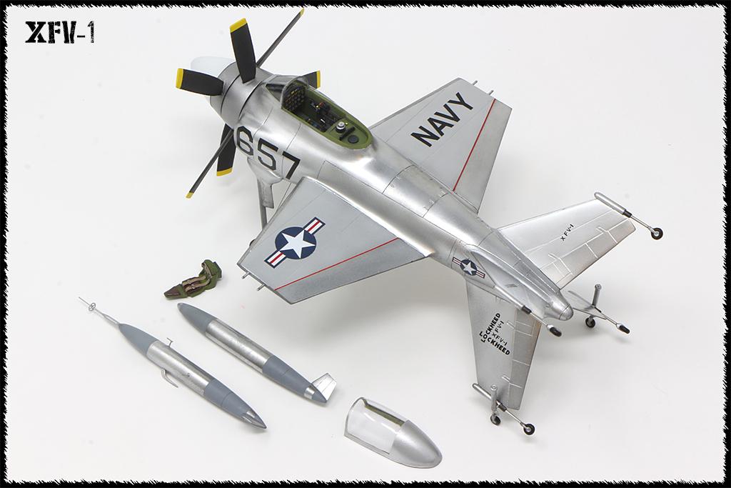 """Lockheed XFV-1 """"Salmon"""" (1:72 -Valom) - Page 2 Img_0026"""