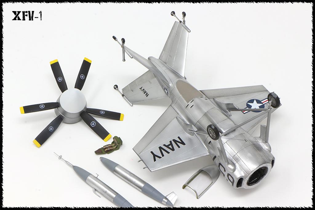 """Lockheed XFV-1 """"Salmon"""" (1:72 -Valom) - Page 2 Img_0027"""