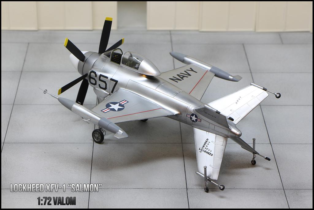 """Lockheed XFV-1 """"Salmon"""" (1:72 -Valom) - Page 2 Img_0033"""