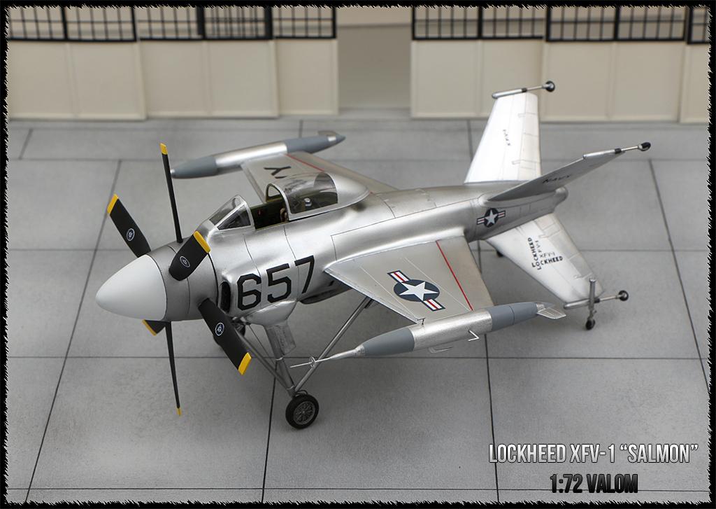 """Lockheed XFV-1 """"Salmon"""" (1:72 -Valom) - Page 2 Img_0117"""